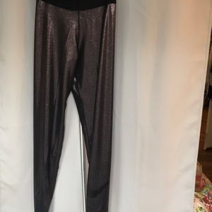Nike sparkle workout tights size L